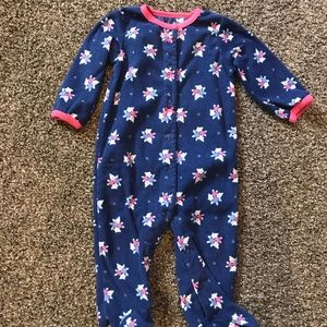 Carter footie jammies